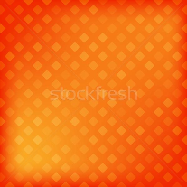 Pixeles gradiens absztrakt háttér művészet narancs Stock fotó © karandaev