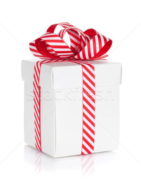 Рождества шкатулке изолированный белый бумаги вечеринка Сток-фото © karandaev