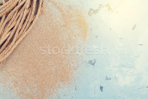 Travel beach vacation background Stock photo © karandaev