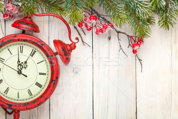 Foto stock: Navidad · antiguos · alarma · despertador