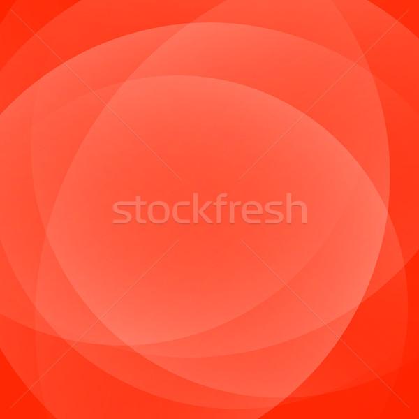 Czerwone światło gradient streszczenie projektu czerwony fali Zdjęcia stock © karandaev