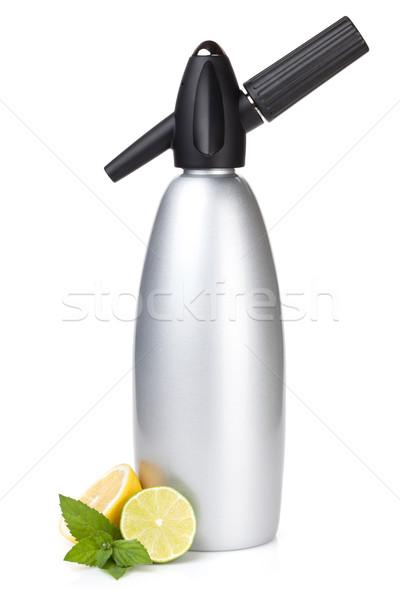 Soda siphon Stock photo © karandaev