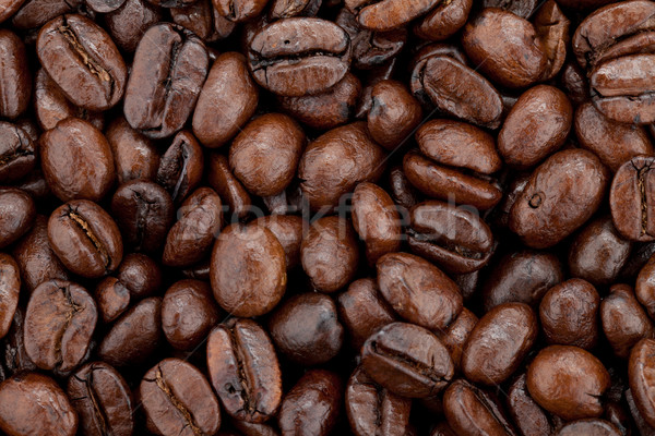Coffee beans background Stock photo © karandaev