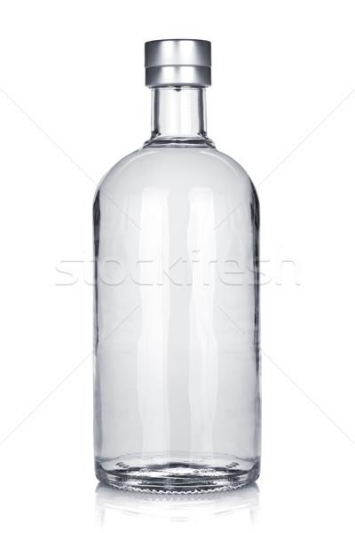Botella ruso vodka aislado blanco fiesta Foto stock © karandaev