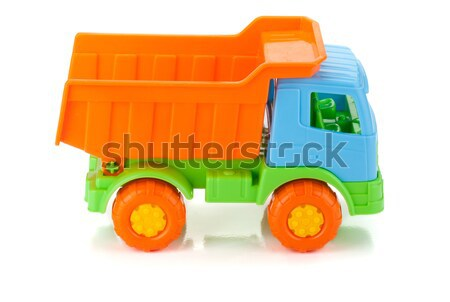 Color toy car Stock photo © karandaev
