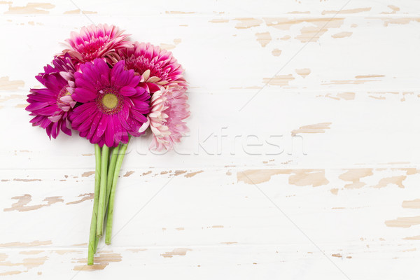 Gerbera flowers Stock photo © karandaev