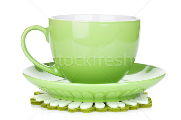 Coffee cup on napkin Stock photo © karandaev