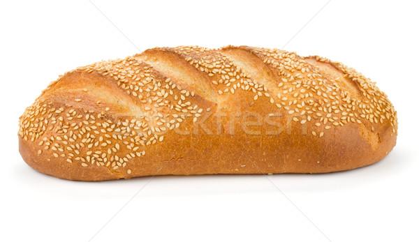 白パン ごま 孤立した 白 パン ディナー ストックフォト © karandaev