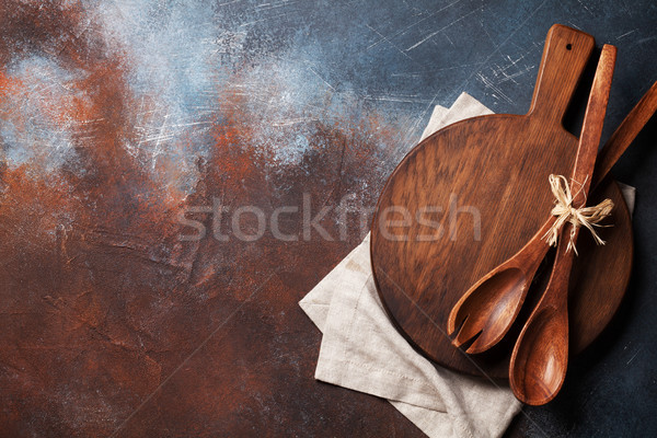 Vintage kitchen utensils Stock photo © karandaev