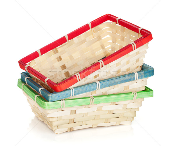 Fruit basket Stock photo © karandaev