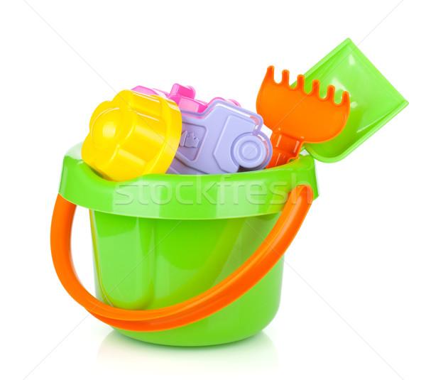 Baby beach sand toys Stock photo © karandaev