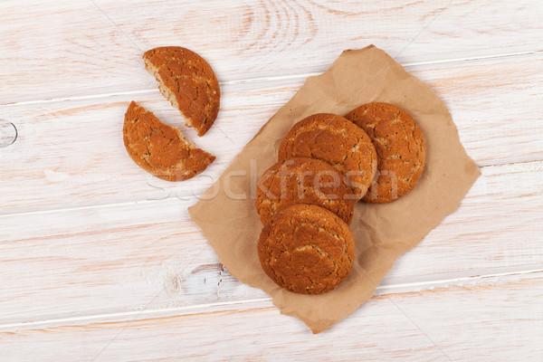 Stock photo: Gingerbread cookies