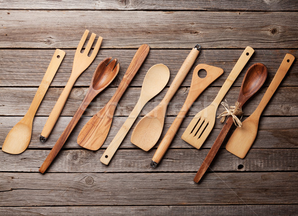 Various cooking utensils Stock photo © karandaev
