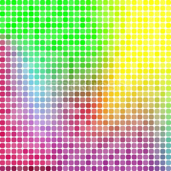 Abstract pixel mosaic background Stock photo © karandaev