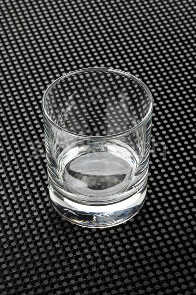 Empty whiskey glass Stock photo © karandaev
