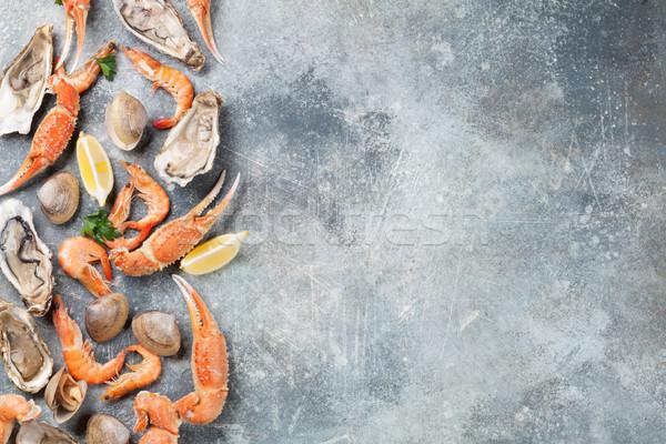 морепродуктов омаров Top мнение каменные Сток-фото © karandaev