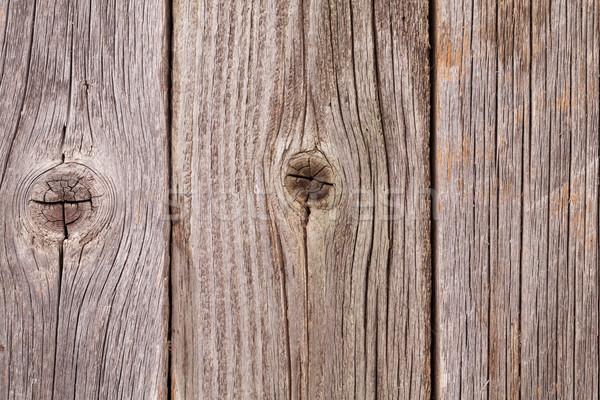 Old wood texture Stock photo © karandaev