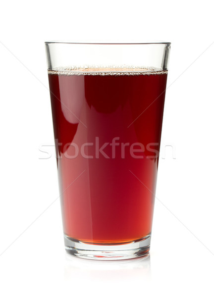 Pomegranate juice in a glass Stock photo © karandaev