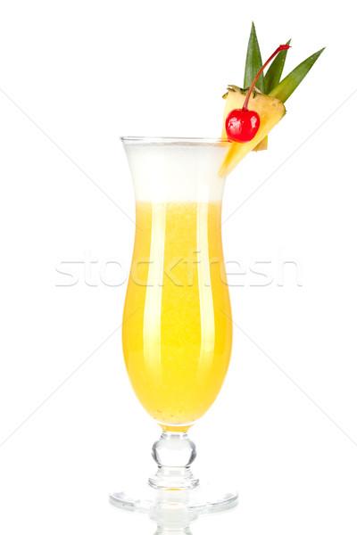 Cocktail collection: Pina Colada Stock photo © karandaev