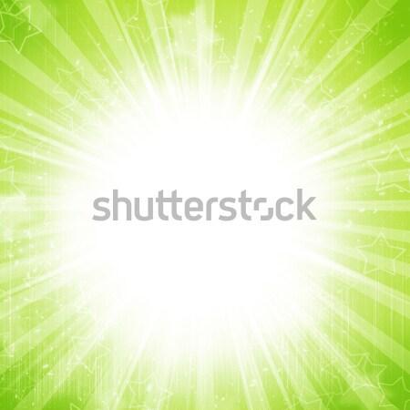 Streszczenie wakacje żółty zielone kolory szczęśliwy Zdjęcia stock © karandaev
