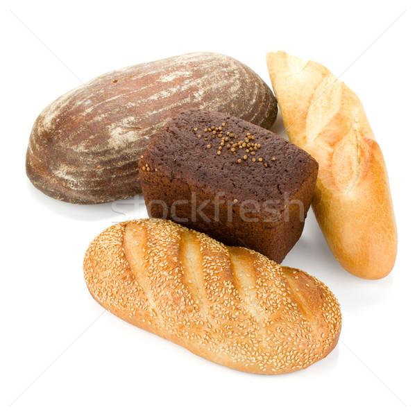 Four loafs of bread Stock photo © karandaev
