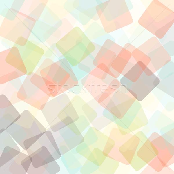 Abstract square geometric colorful background Stock photo © karandaev