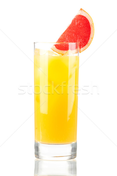 Alcohol cocktail with orange juice Stock photo © karandaev