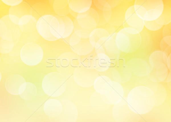 Najaar bokeh kleurrijk Blur blad achtergrond Stockfoto © karandaev