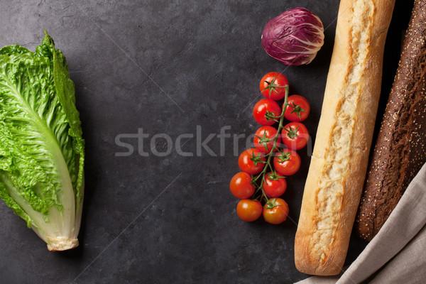 Cooking food ingredients Stock photo © karandaev