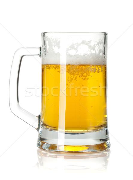 Beer mug Stock photo © karandaev
