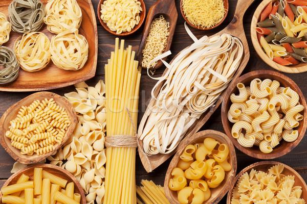 ストックフォト: パスタ · 料理 · 先頭 · 表示 · 食品