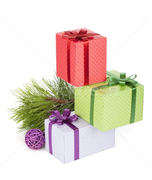 Сток-фото: красочный · Рождества · изолированный