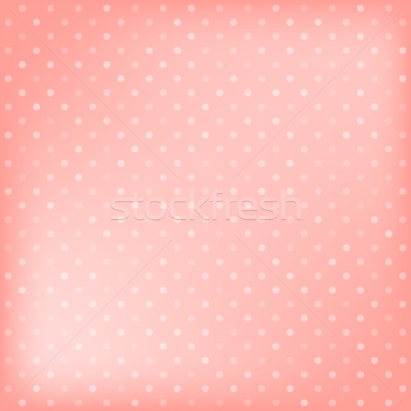 Polka dot pink background Stock photo © karandaev