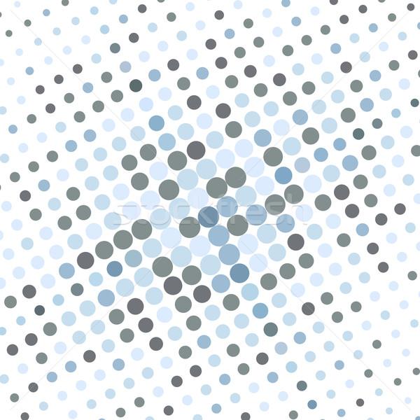 抽象的な 点在 青 テクスチャ ビジネス デザイン ストックフォト © karandaev