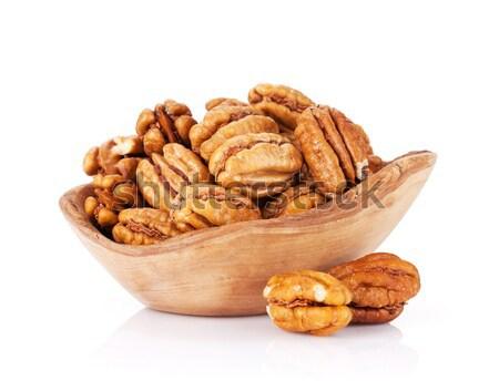 Pecan nuts Stock photo © karandaev