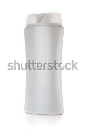 Bianco shampoo bottiglia isolato corpo design Foto d'archivio © karandaev