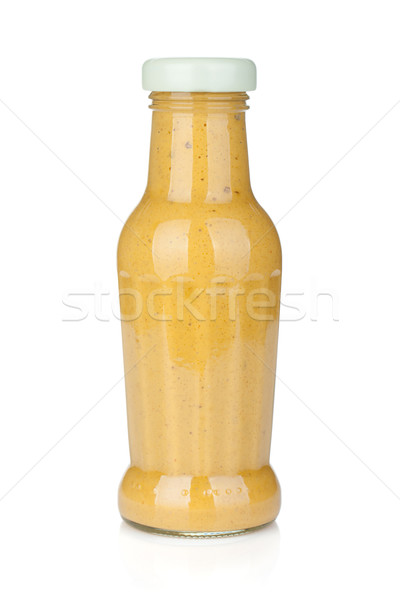 Mustard glass bottle Stock photo © karandaev