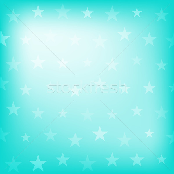 Blue stars pattern Stock photo © karandaev