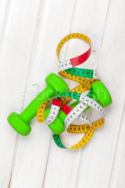 рулетка спорт тело фитнес Сток-фото © karandaev