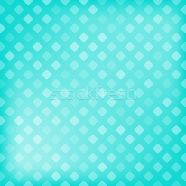 Pixeles gradiens absztrakt háttér művészet kék Stock fotó © karandaev