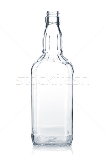 Empty whiskey bottle Stock photo © karandaev