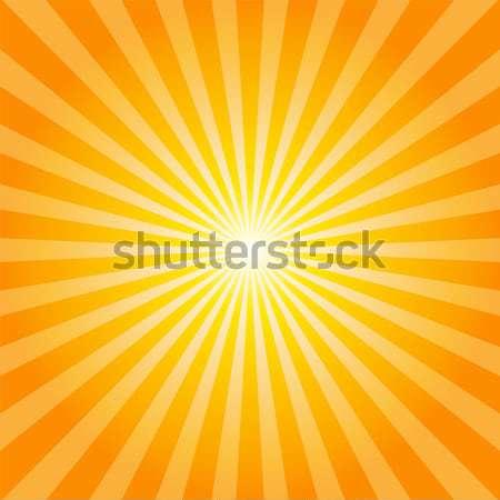 Orange rays texture background Stock photo © karandaev