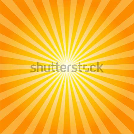 Turuncu rays doku örnek güneş soyut Stok fotoğraf © karandaev
