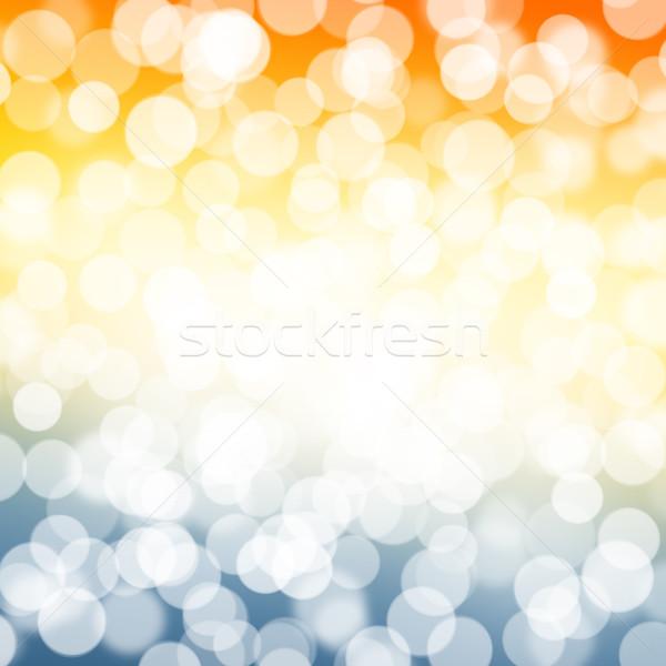 Blurred bokeh nature background Stock photo © karandaev