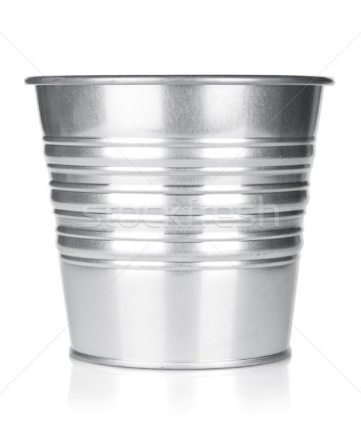 Metallic bucket Stock photo © karandaev