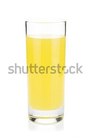 Lemon juice glass Stock photo © karandaev