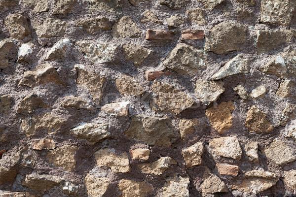 Starych mur tekstury ściany streszczenie domu Zdjęcia stock © karandaev