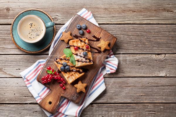 Сток-фото: кофе · конфеты · Top · мнение · копия · пространства · продовольствие