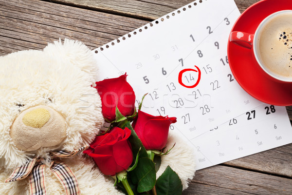 Valentines day greeting card Stock photo © karandaev
