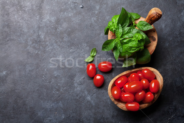 Italian cuisine Stock photo © karandaev